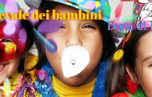 Carnevale dei bambini san carlo 26 marzo