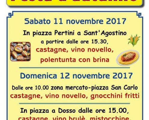 festa d'autunno sabato 11 novembre