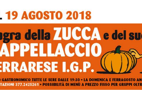 sagra san carlo 9 agosto 2018 zucca cappellacci igp ferrara