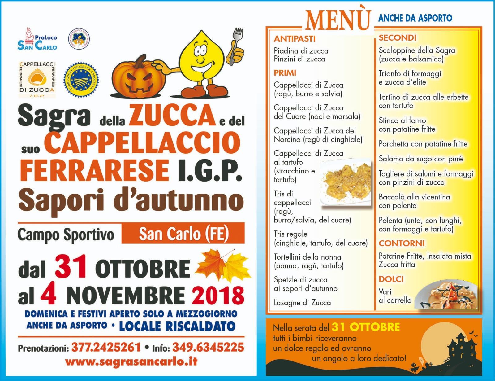 sagra autunno san carlo 2018