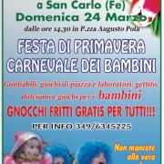 FESTA DI PRIMAVERA san carlo 24 marzo
