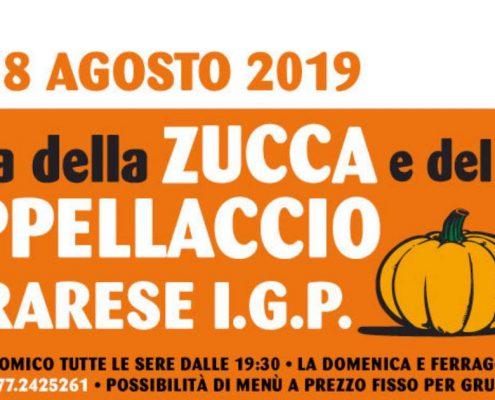 Sagra della Zucca e del Suo Cappellaccio Ferrarese IGP 2019