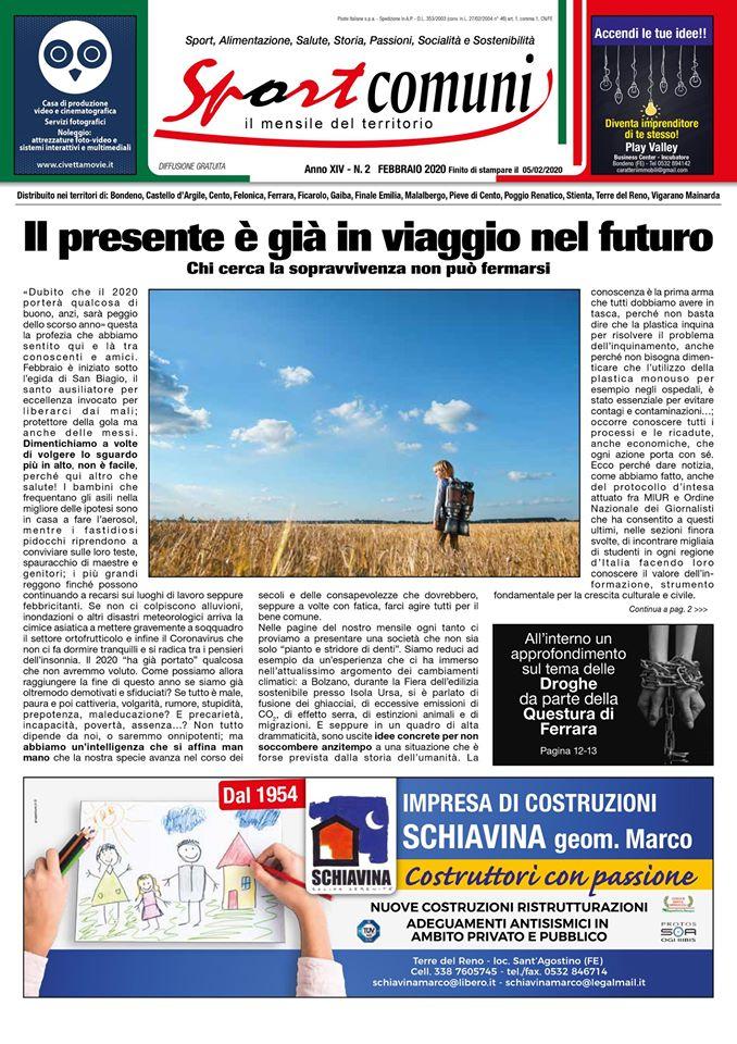 sport comuni febbraio cover